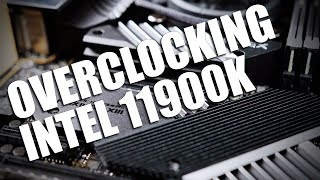 Intel 11900k Overclocking... can it make up for its lack of cores?