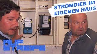 Falsche Leitungen: Hausbewohner zapft Strom ab | Auf Streife | SAT.1 TV thumbnail