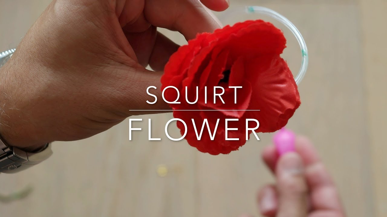 Water Squirting Flower
