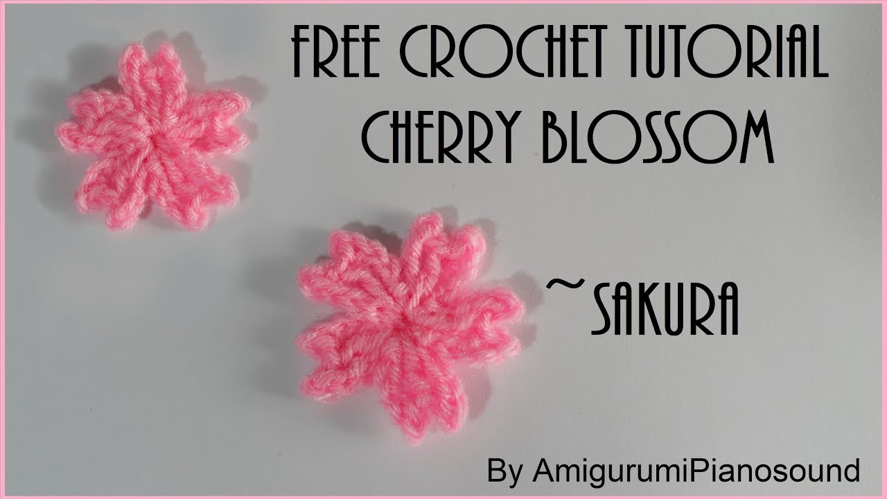 Cute Amigurumi Flowers Free Crochet Patterns | 720x1280