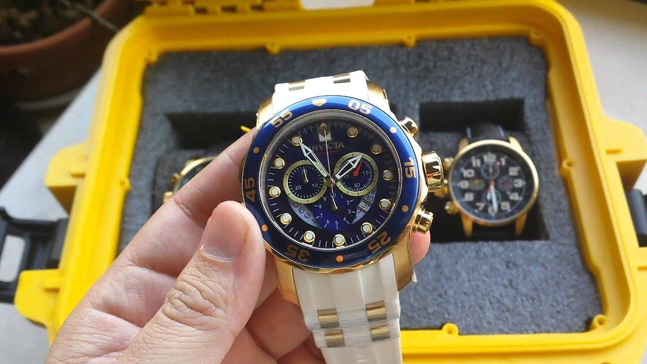 2f60ad7e627 Relógio invicta pro diver ref 20288 original como alinhar ponteiros.  Altarelojoaria