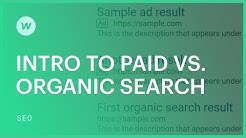 How search works: paid vs. organic search traffic - SEO tutorial