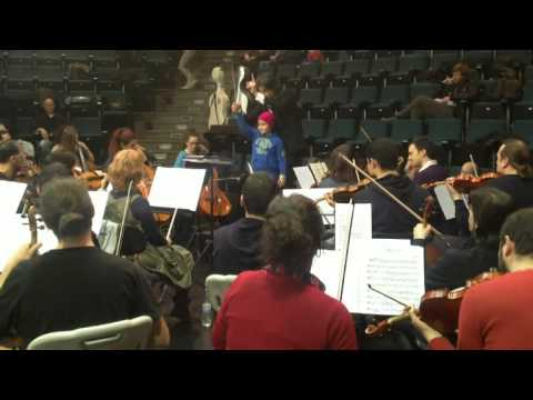 Τα παιδιά της ΦΛΟΓΑΣ στην πρόβα της Metropolitan Symphony Orchestra of Athens!