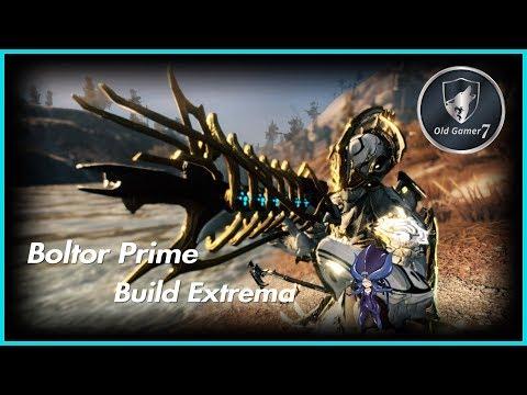 WARFRAME (PARTNER) BOLTOR PRIME BUILD EXTREMA! UN CAÑO DE ARMA ;) thumbnail