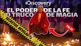 Monje Budista Levita en Discovey Channel - ¿El poder de la fe? Un milagro captado en VIDEO?