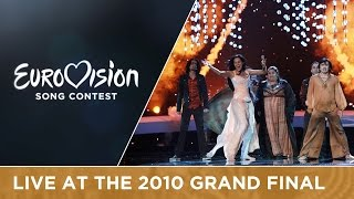 Eva Rivas - Apricot Stone (Armenia) Live 2010 Eurovision Song Contest