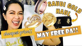 SAHOD KO SA YOUTUBE BINILI KO NG GOLD | SAUDI GOLD HAUL|MURA LAHAT
