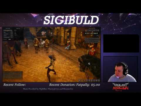 SigiPlays: Games with Sigibuld (Second segment from Twitch.TV broadcast 7/22/2017)