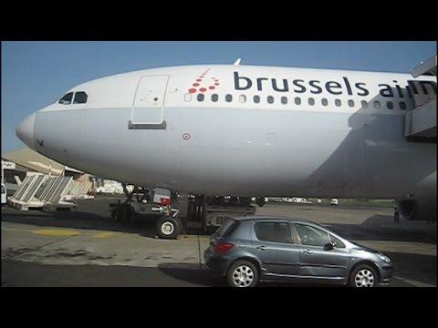 vol Bruxelles Dakar en business avec un Aribus A330 de Brussels Airlines