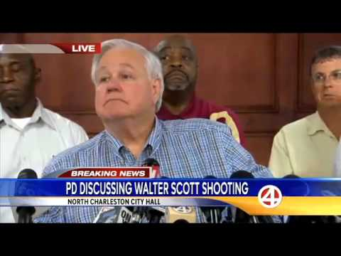 April 8 2015 Walter Scott Shooting Police & Mayor Press Conference