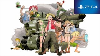 Metal Slug Anthology PS2 On PS4 Trophy List + Gameplay HD 1080p No Commentary