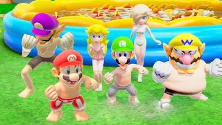 """Super Mario Party """"Beach Party Pack"""" - ALL Characters"""