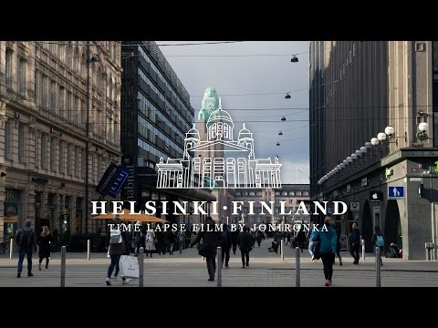Helsinki Finland   Time lapse