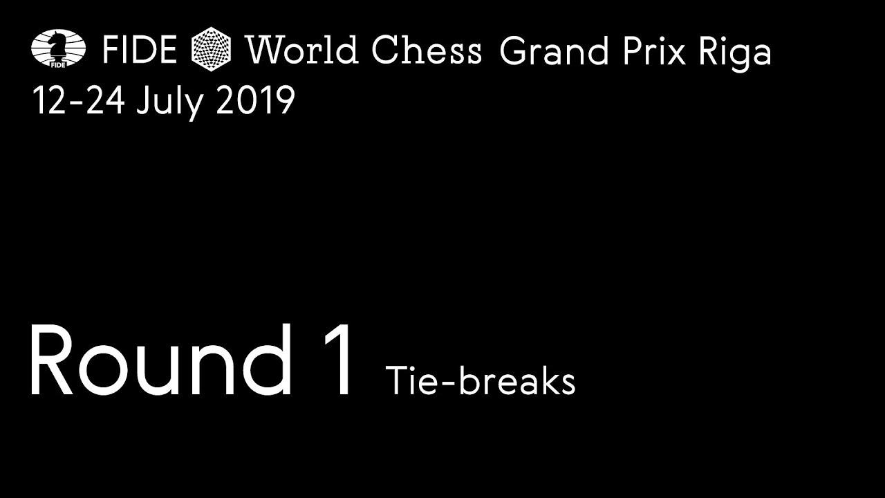 1f4c4861 Riga GP: R1, Tiebreaks: All the way to Armageddon | chess24.com