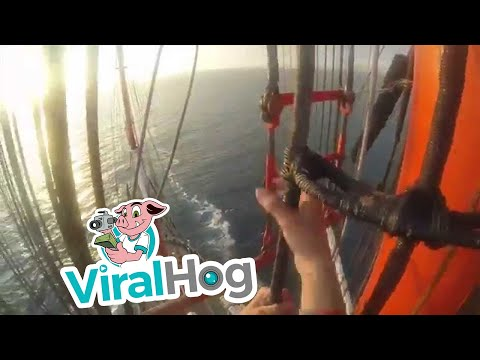 58 meters above the deck || ViralHog