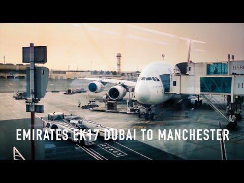 TRIP REPORT: Emirates EK17 Airbus A380 Dubai to Manchester