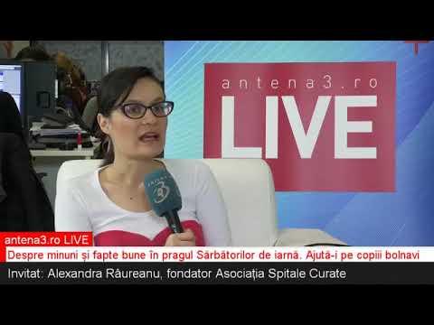 ANTENA3 RO LIVE  Despre minuni și fapte bune de Sărbători