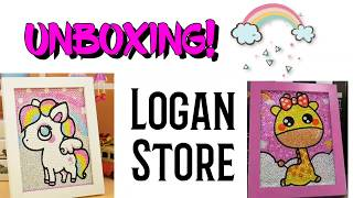 Simply TOO CUTE! Special Shaped Diamond Painting UNBOXING Logan Store AliExpress