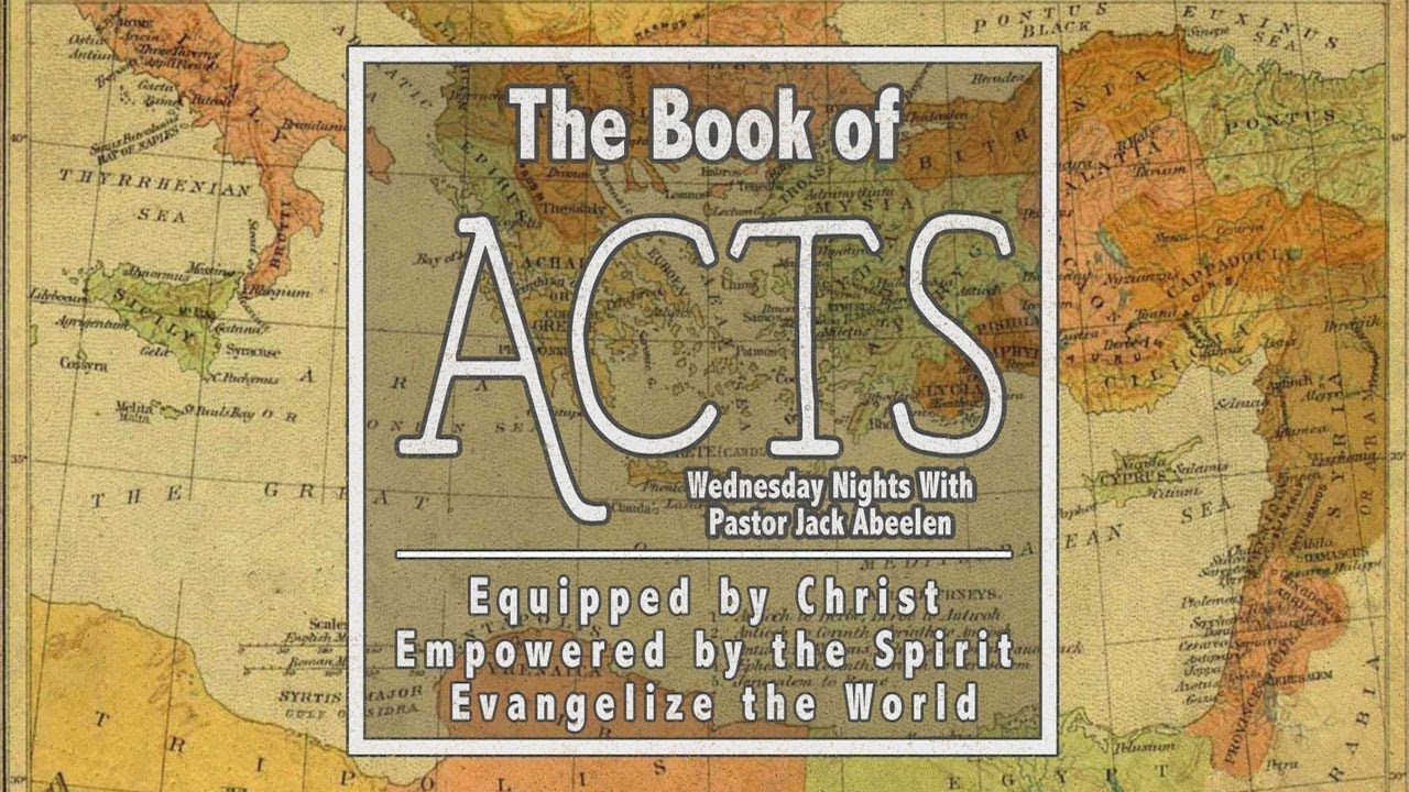 Acts 12:1-11 - Peter, Prison, and Prayer