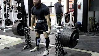 Jeremy Hamilton: Deadlift Training 06/12/13 Week 1