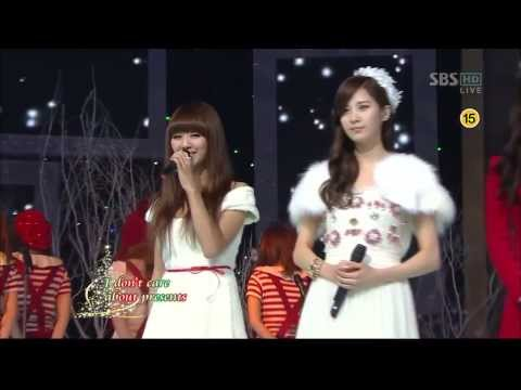 Suzy(Miss A),Seohyun(SNSD),Hyorin(Sistar) - All I Want For Christmas Is You (Christmas Special)