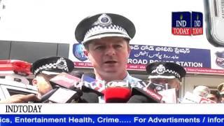 Australian police visit Abids Road police station