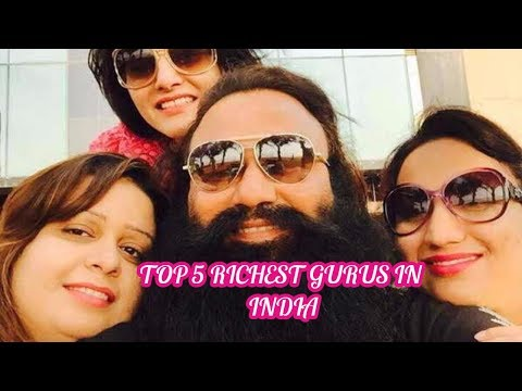 Top 5 Richest Gurus In India||India's Super Rich Gurus ||Top 5 TV