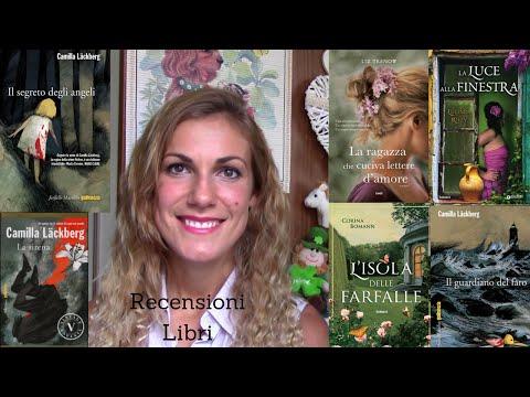 RECENSIONI LIBRI : I 6 ROMANZI PIU' BELLI DELL'ULTIMO PERIODO | BOOKS REVIEW THE BEST
