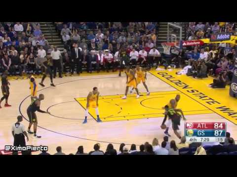 Atlanta Hawks vs Golden State Warriors - Full Game Highlights | March 1, 2016 | NBA 2015-16 Season