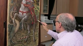 Conserving Crivelli's Saint George Slaying the Dragon