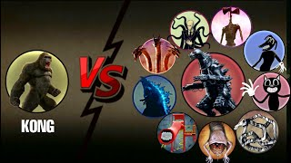 KING KONG Vs All Legendary Monsters + MechaGodzilla Most Epic Video