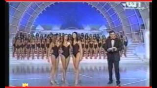 MISS ITALIA 2001:prima DANIELA FEROLLA,terza Simona Marotta -  2 Miss Calabresi