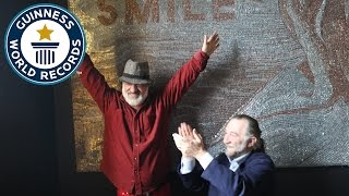 Largest staple mosaic - Guinness World Records