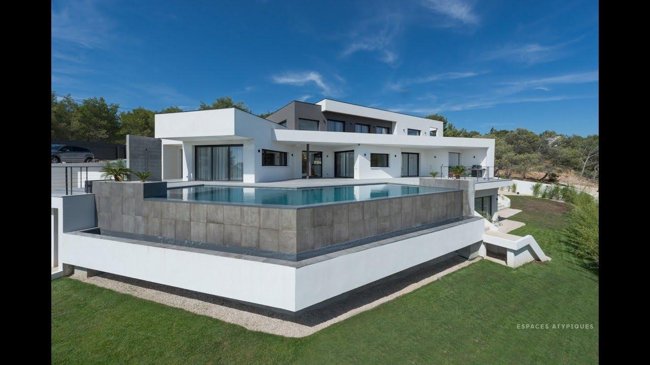 Espace Atypique Aix En Provence villa minimaliste d'inspiration mallet stevens - espaces atypiques