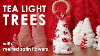 Tea Light Trees Ornament Exchange