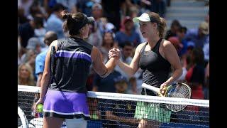 Caroline Wozniacki vs. Bianca Andreescu | US Open 2019 R3 Highlights