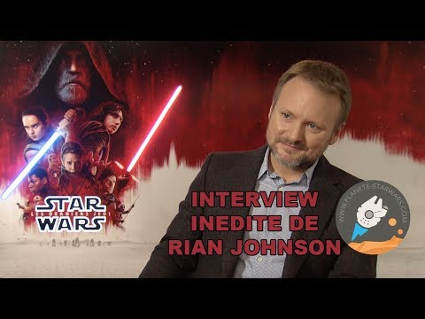 Interview of Rian Johnson on The Last Jedi and the next Star Wars Trilogy