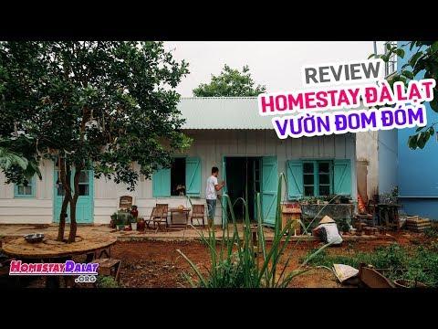 Review Vườn Đom Đóm | Homestay Yên Bình Nhất Đà Lạt Là Đây