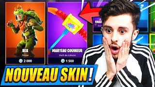 "🔴 FORTNITE with THE NEW 'LEGENDARY SKIN' ""REX"" and NEW ARME!! (5 TOP1)"