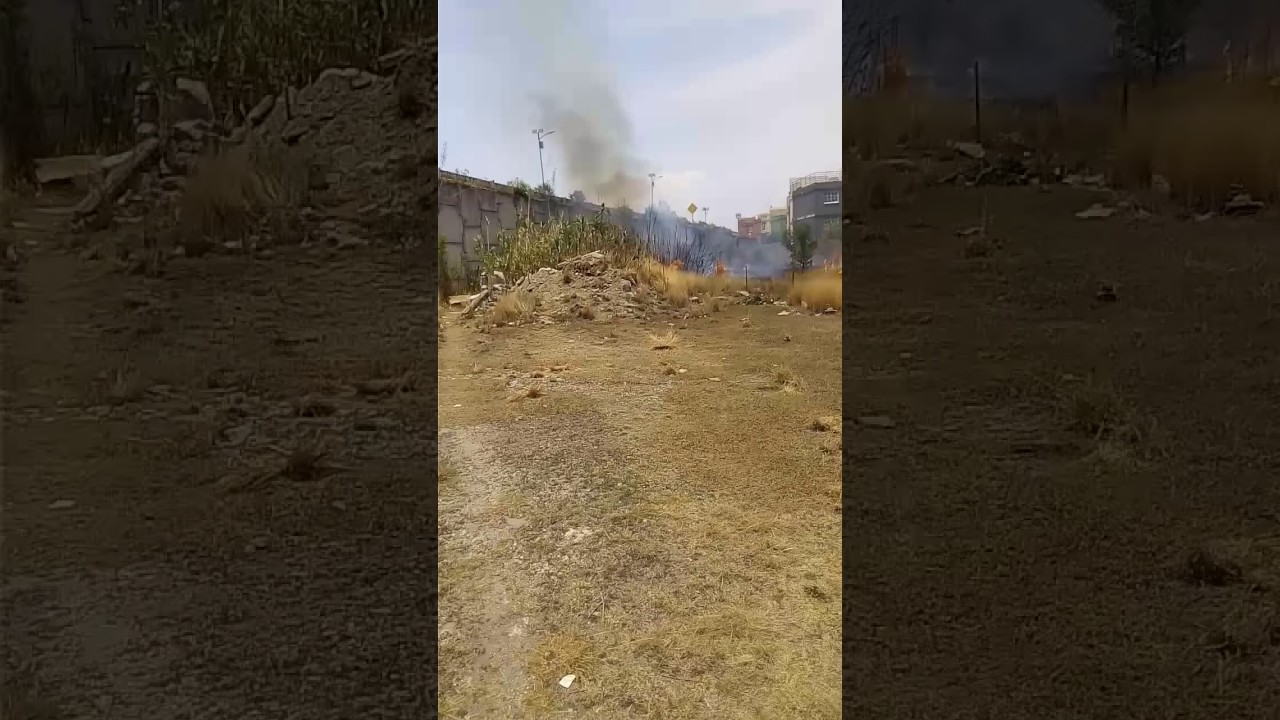 Incendio En Terrazas De Angelopolis 6 Youtube