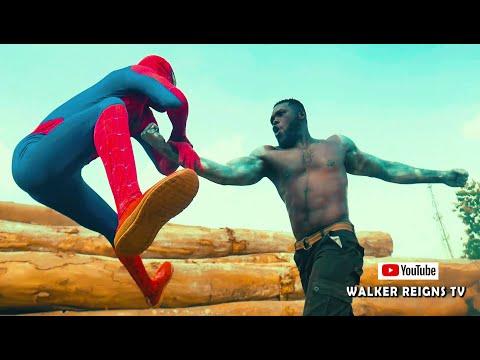 AFRICAN'S HAS DONE IT AGAIN - HOT ACTION SHORT FILM  SPIDER-MAN VS JAX IN Mortal Kombat 2021 LA