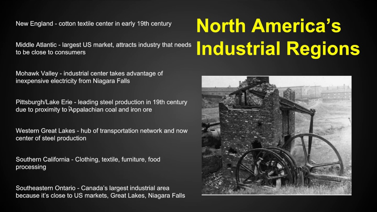 AP Human Geography - Industry - Chapter 11 Key Issue 1 - YouTube