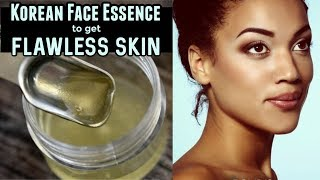 Homemade Korean Face Essence To Fight Against Uneven Skin Tone