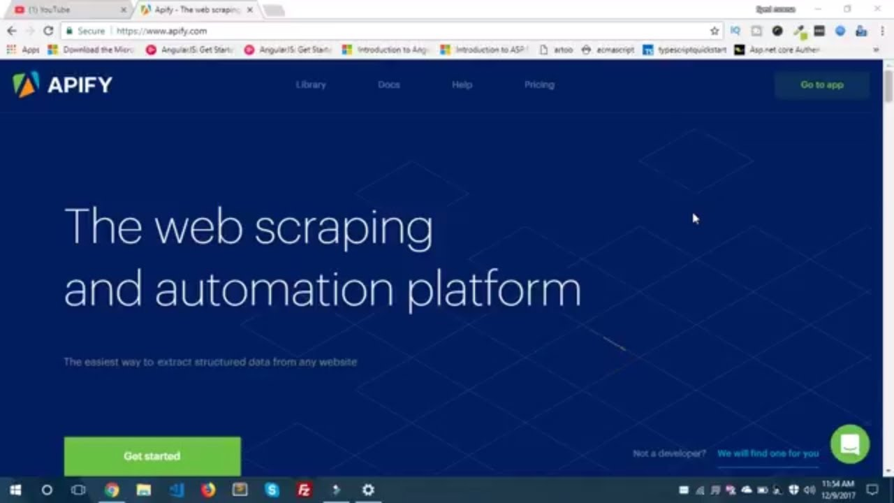 APIFY - The web scraping and automation platform