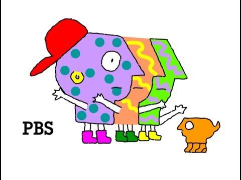 1993-1999 PBS Kids Logo Remake
