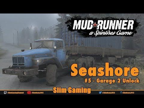 SPINTIRES - MudRunner - Seashore #5 Garage 2 Unlock