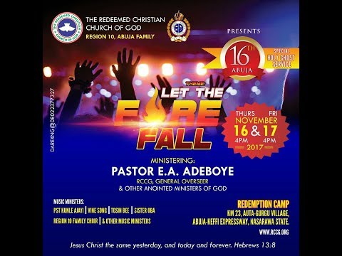 ABUJA SPECIAL HOLY GHOST SERVICE 2017
