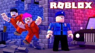 ROBLOX: WE ESCAPED FROM PRISON!