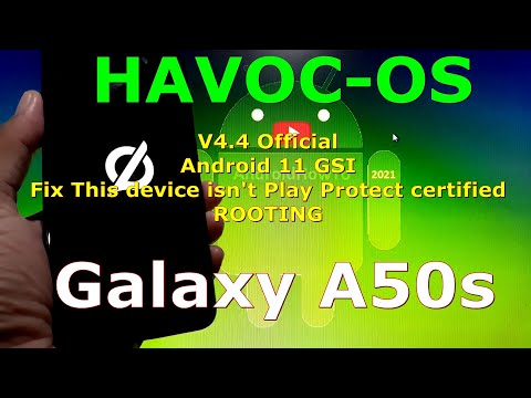 Havoc-OS v4.4 Official for Samsung Galaxy A50s - Android 11 GSI