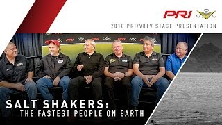 Salt Shakers The Fastest People On Earth Bonneville Round Table at 2018 PRI Show Full Length Feature